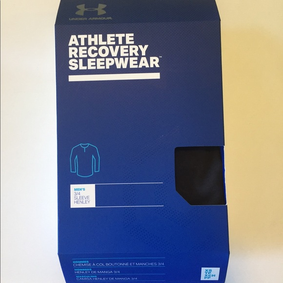 Under Armour Athlete Recovery Sleepwear Shirt XS ee1c8a37f
